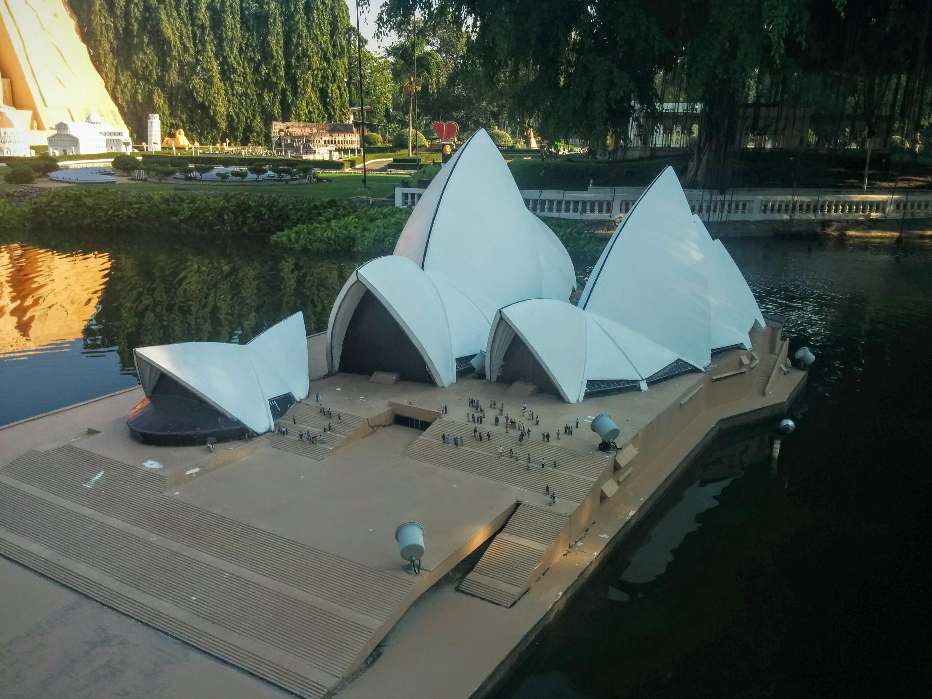 Сиднейская опера в миниатюре: в парке мини Сиам в Паттайе